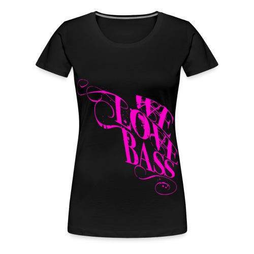 welovebass10 - Frauen Premium T-Shirt