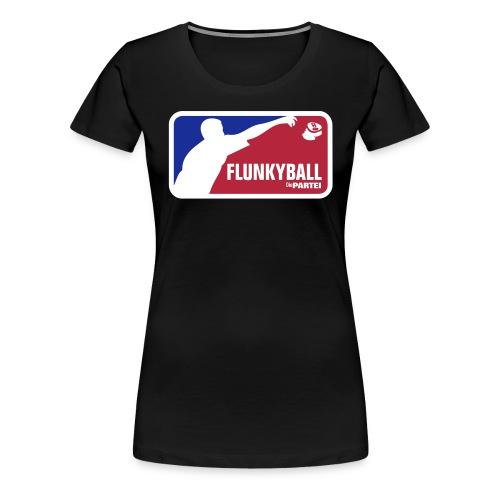 Flunkyball-new - Frauen Premium T-Shirt