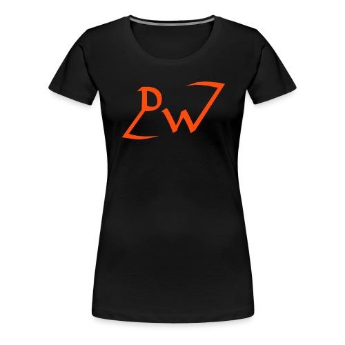 Ausgeschriebenes EMBLEM - Frauen Premium T-Shirt