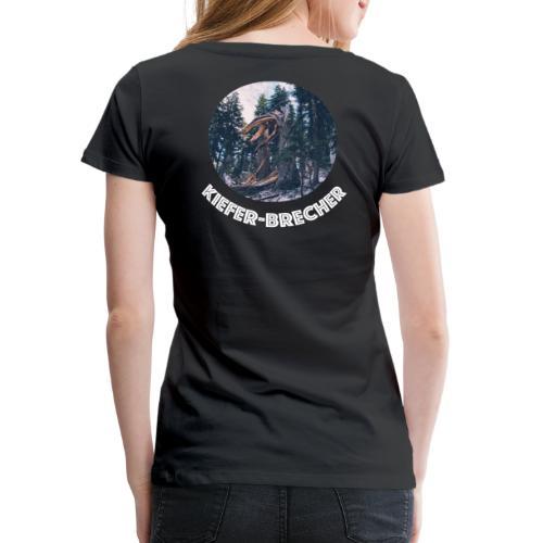 KIEFER WEISS - Frauen Premium T-Shirt