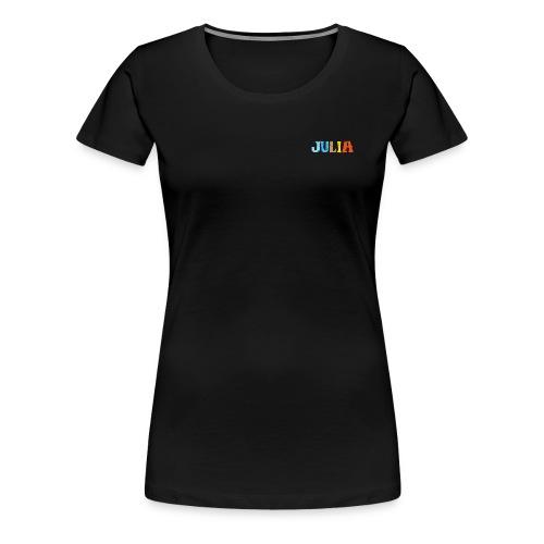 shirt_julia_600dpi - Frauen Premium T-Shirt