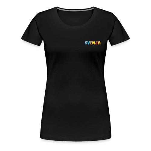 shirt_svenja_600dpi - Frauen Premium T-Shirt