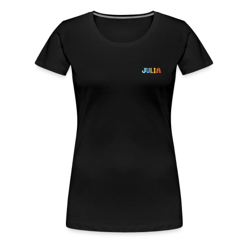 shirt_julia_600dpi - Frauen Premium T-Shirt