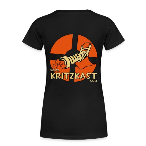 kk logo 26 flex 30cmx30cm - Women's Premium T-Shirt