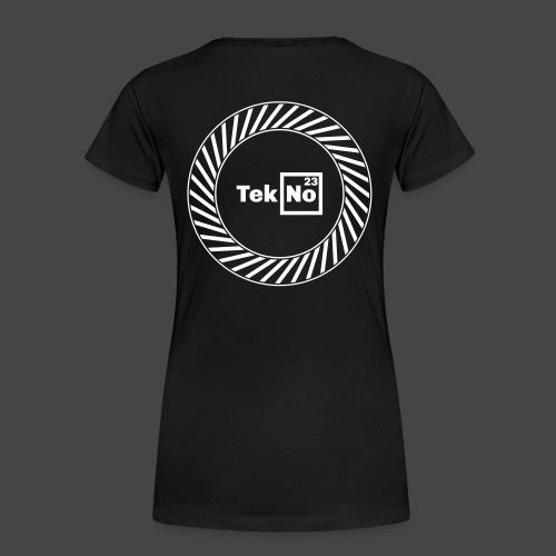 TEKNO23 ROUND - T-shirt Premium Femme