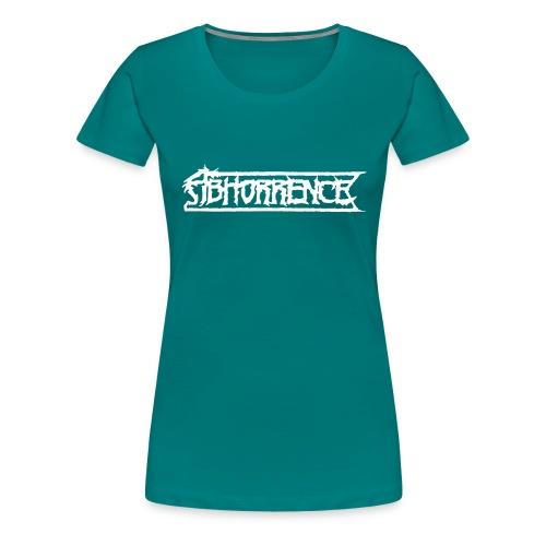 abhorrencei - Naisten premium t-paita