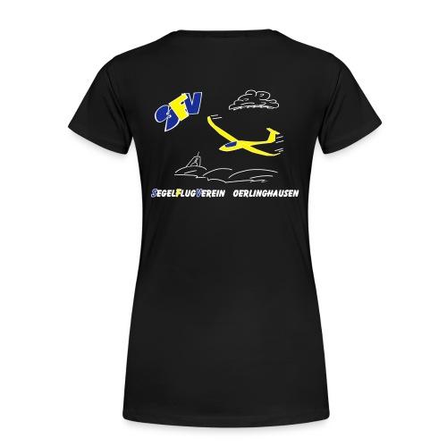 SFVOE - Logo - schwarz - Frauen Premium T-Shirt