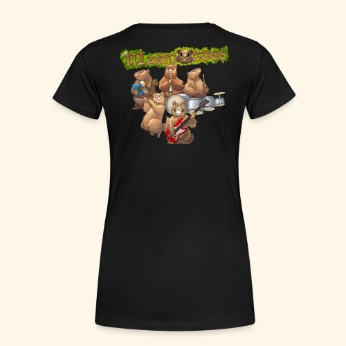 Tshirt groupe complet (dos) - T-shirt Premium Femme