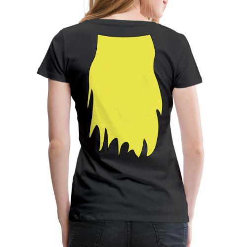 lange Haare - Frauen Premium T-Shirt