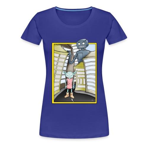 RoboterTshirt png - Frauen Premium T-Shirt