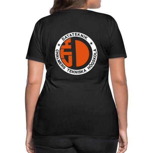 Datalogga för mörka bakgrunder - Premium-T-shirt dam