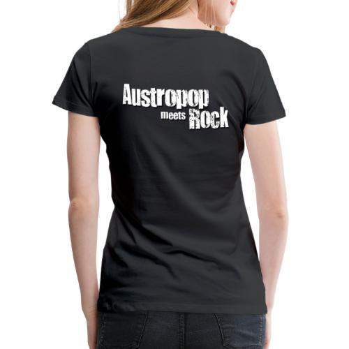 Austropop meets Rock classic back - Frauen Premium T-Shirt