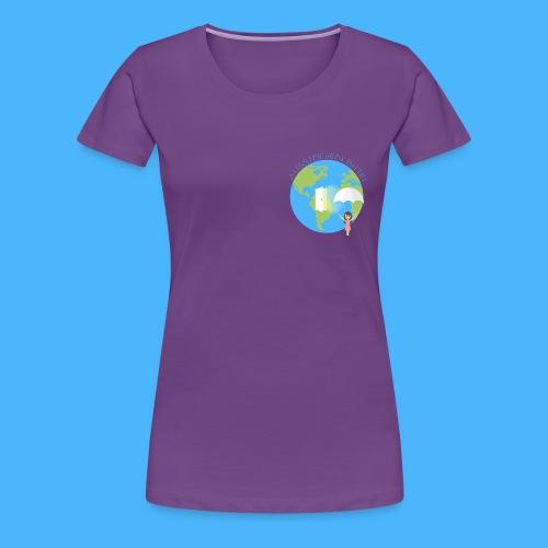 Logo Aussteigen Bitte - Frauen Premium T-Shirt