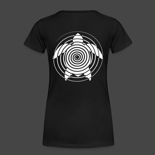 tartaruga a spirale 23 - Maglietta Premium da donna