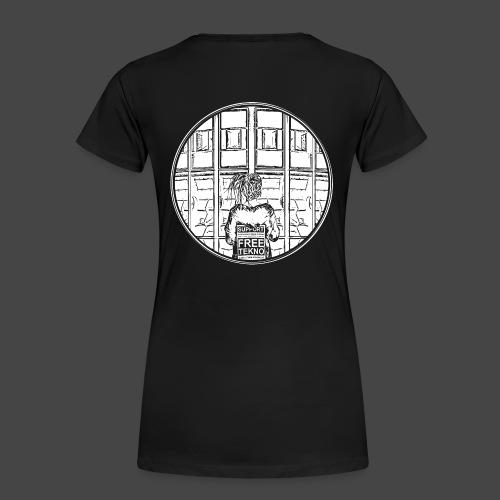 SUPPORT FREETEKNO - MAR - T-shirt Premium Femme
