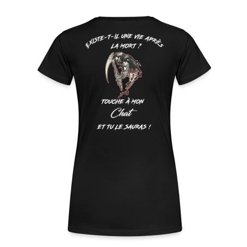 Impression T Shirt BLANC png - T-shirt Premium Femme