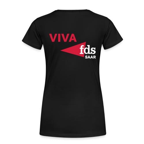 fdsnewlogo - Frauen Premium T-Shirt