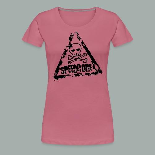 speedcore whore png - T-shirt Premium Femme