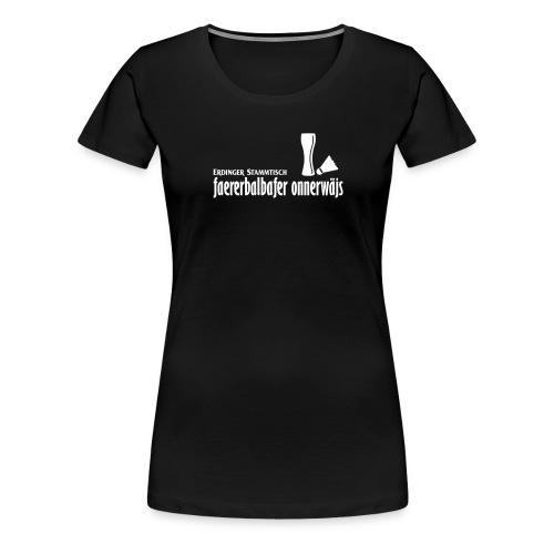 faererbalbafer_onnerwäjs_ - Frauen Premium T-Shirt