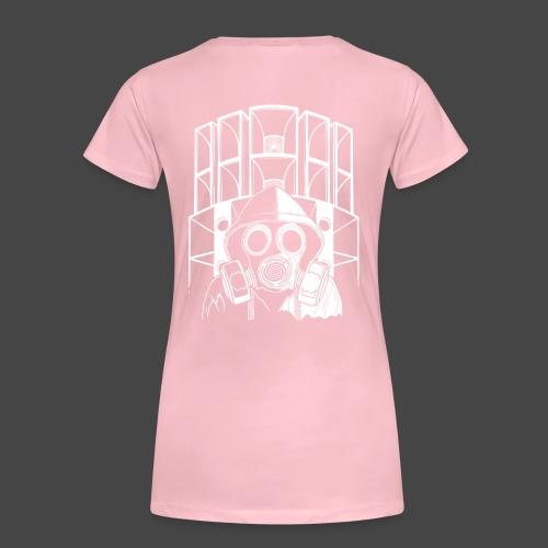 tekno 23 masque à gaz - T-shirt Premium Femme