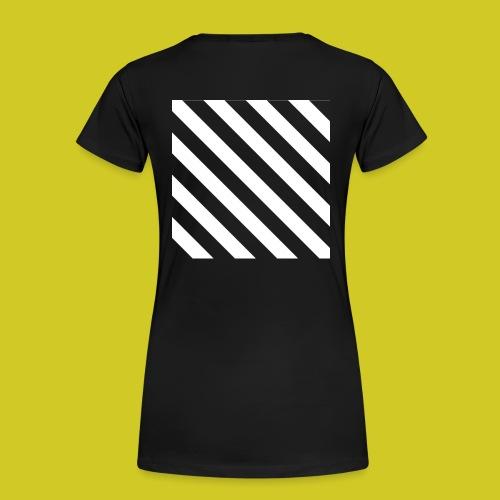 BLACK AND WHITE - Camiseta premium mujer
