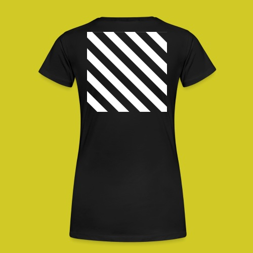 BLACK AND WHITE - Camiseta premium mujer