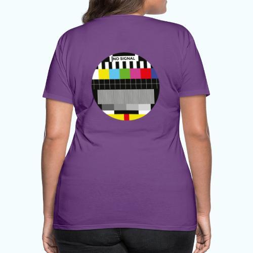 Vintage test pattern - Women's Premium T-Shirt