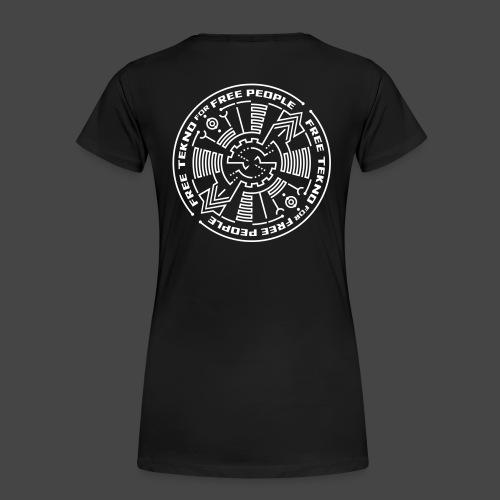 Tekno gratuit pour les personnes libres - T-shirt Premium Femme