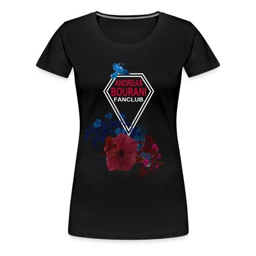 fc blumen vorne png - Frauen Premium T-Shirt