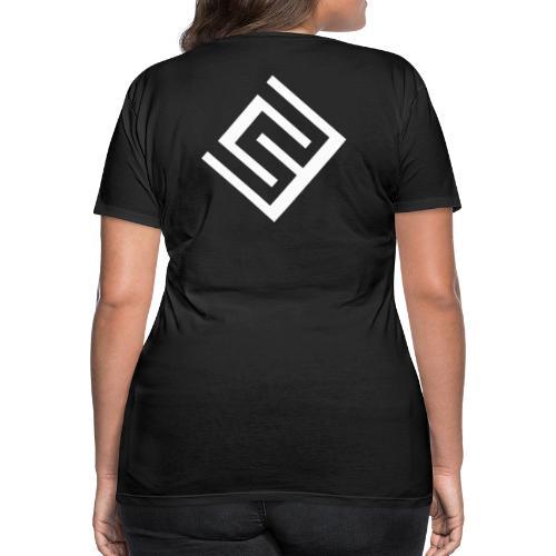 CW logo vit - Premium-T-shirt dam