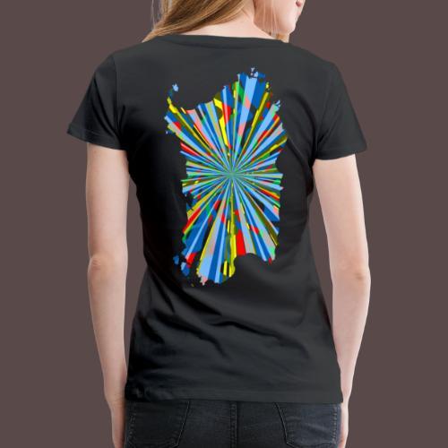 Sardegna Esplosione di Colori - Maglietta Premium da donna