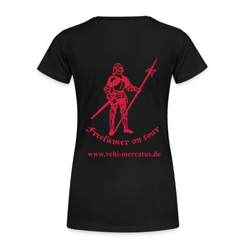 Freelander on tour mit Llink - Frauen Premium T-Shirt