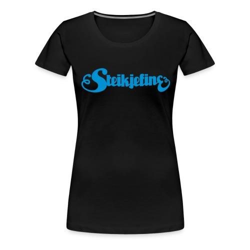 blaa - Premium T-skjorte for kvinner