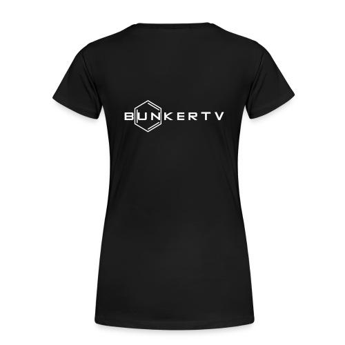 BunkerTV Logo - Frauen Premium T-Shirt