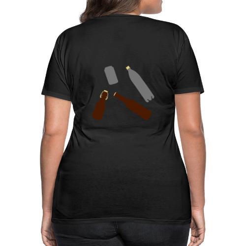 Flaschen und Dose - Frauen Premium T-Shirt