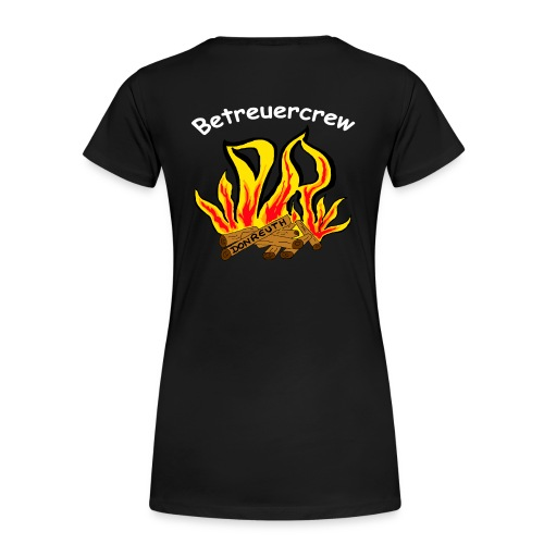 Betreuercrew weiß - Frauen Premium T-Shirt