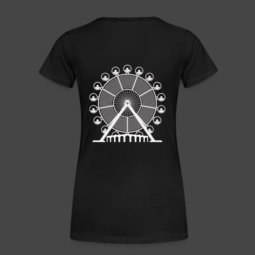 tekno, 23, roue, roue - T-shirt Premium Femme