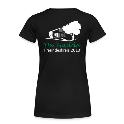 De Gadde Logo - Frauen Premium T-Shirt