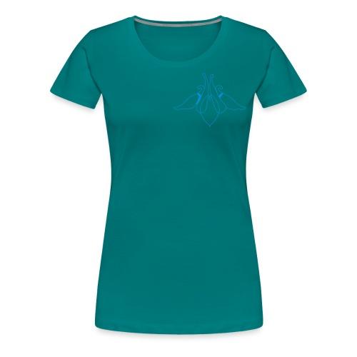 columbine - Frauen Premium T-Shirt