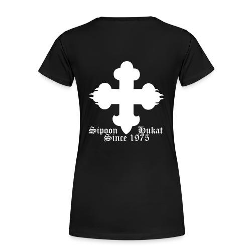 Sipoon_Hukat - Naisten premium t-paita