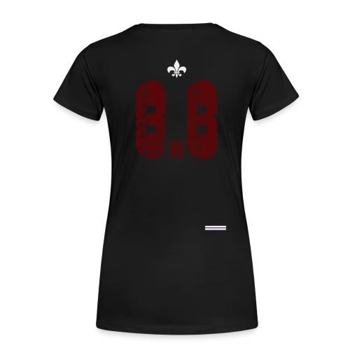6.6 back - Premium-T-shirt dam