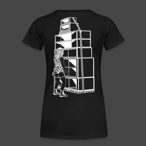 soundsystem tekno 23 fille - T-shirt Premium Femme