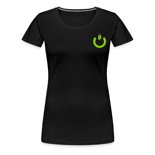 Siio Button ohne Schatten - Frauen Premium T-Shirt