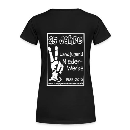 laju logo jubi - Frauen Premium T-Shirt