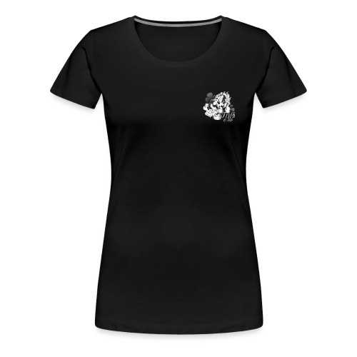 t shirt irish pie black copie png - T-shirt Premium Femme