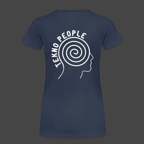 personnes tekno - T-shirt Premium Femme