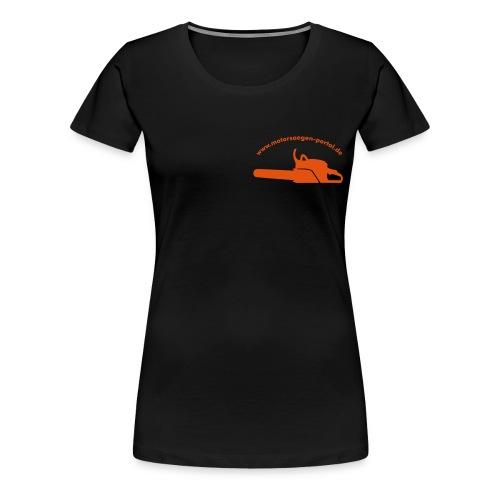 shirt front 01 - Frauen Premium T-Shirt