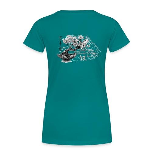 TempleKARATE TRANSP GIF - T-shirt Premium Femme