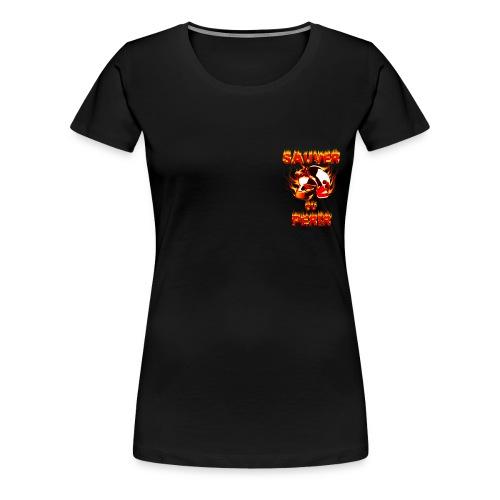 teeshirt_pompier - T-shirt Premium Femme