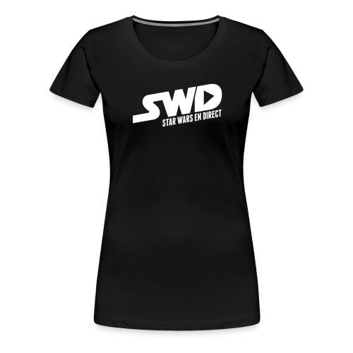 SWD Logo texte FR - T-shirt Premium Femme